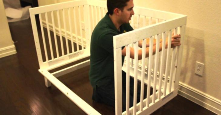 9 façons de récupérer un ancien lit pour bébé