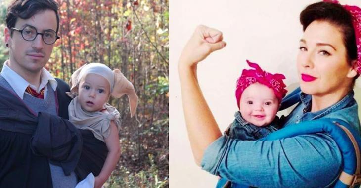 20  idées de costumes pour passer l'Halloween avec votre bébé