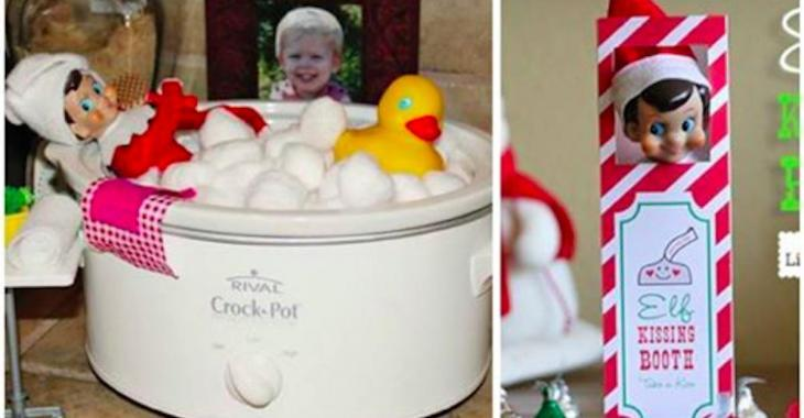Voici les 25 meilleures idées de tours à faire faire aux lutins de vos enfants en décembre!