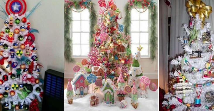 17 sapins de Noël magiques qui vous inspireront pour faire le vôtre cette année!