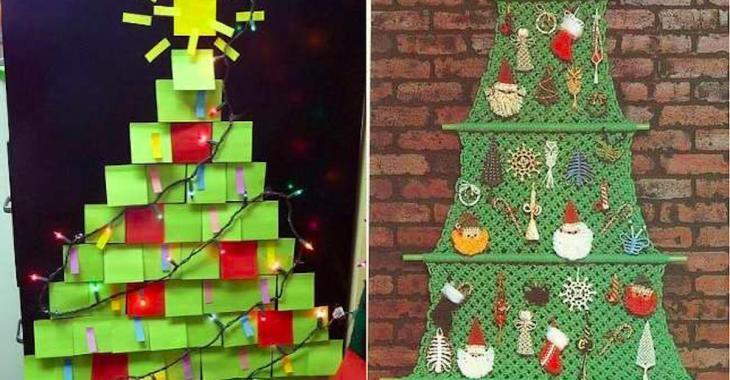 20 idées de sapins de Noël pour petits espaces
