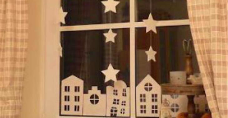 12 décorations de fenêtres à faire soi-même pour le temps des Fêtes