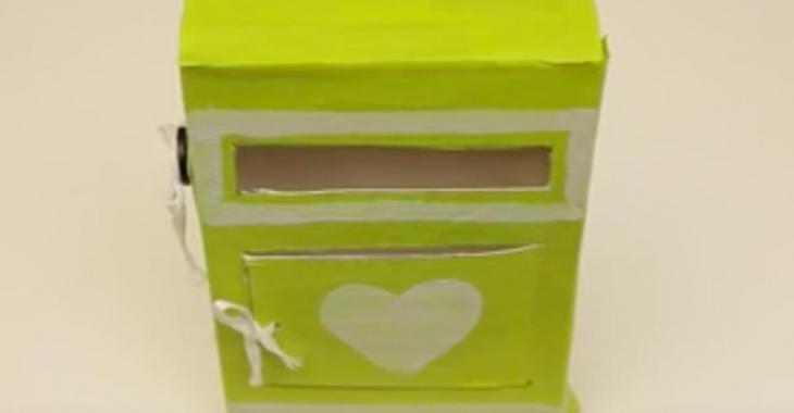 Comment fabriquer une jolie boite à lettres pour la Saint-Valentin