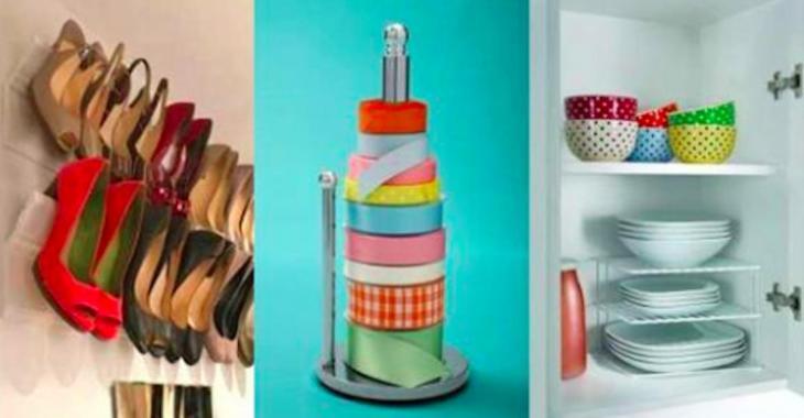 25 idées pour ranger toute la maison de façon ingénieuse