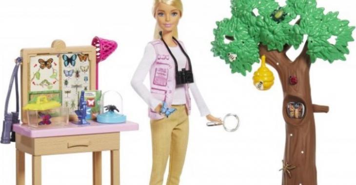 Cette année, Barbie se lance dans des carrières scientifiques