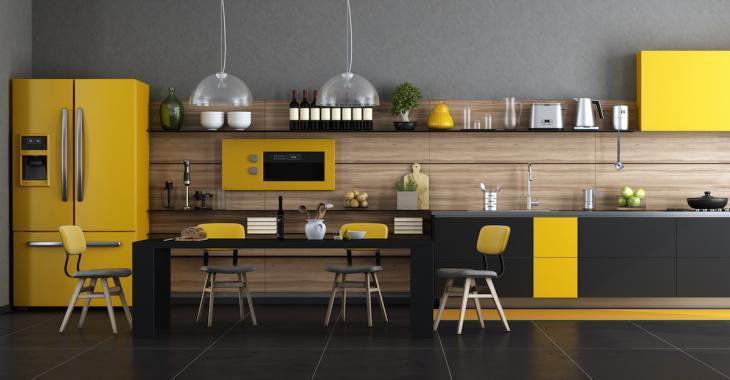 8 façons d'apporter une touche de jaune à votre cuisine