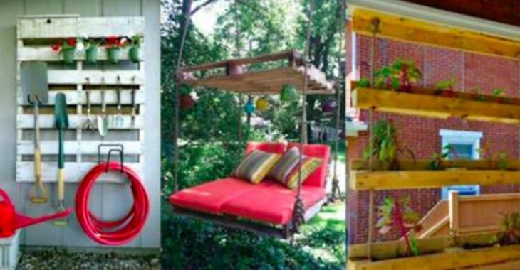 21 choses intéressantes que vous pouvez réaliser à partir de bois de palettes