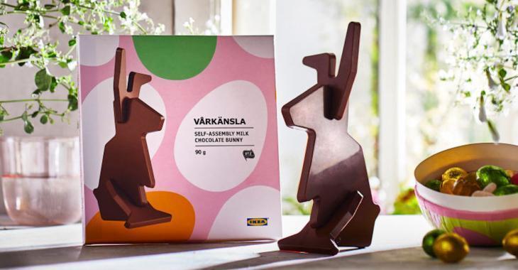 IKEA a créé le lapin en chocolat parfait pour sa gamme