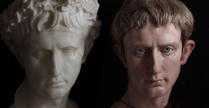 Un sculpteur redonne vie aux empereurs romains de façon bluffante!