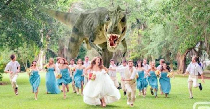 Voici la toute dernière tendance en matière de photos de mariage