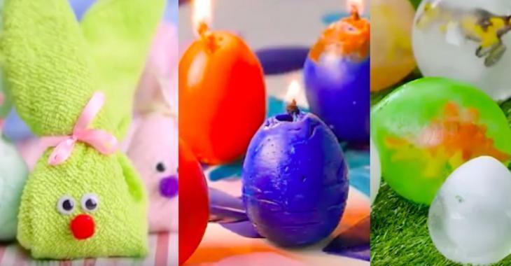 11 mignons bricolages de Pâques faciles à réaliser
