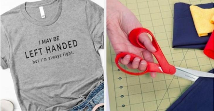 18 produits créés pour les gauchers
