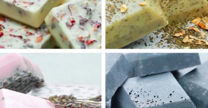 Comment fabriquer votre propre savon exfoliant au sucre:  4 recettes maison