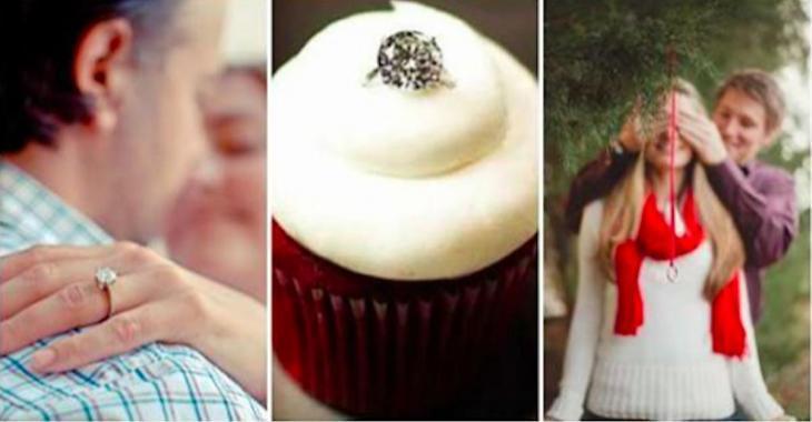 15 façons originales de faire une demande en mariage