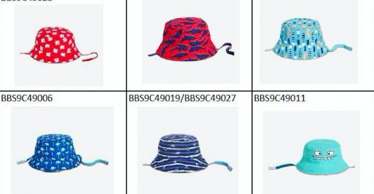 Rappel de chapeaux de soleil pour bébés de marque Joe Fresh à cause d'un risque d'étouffement