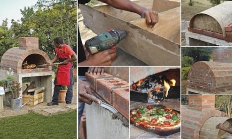 fabriquer son propre four à pizza! - trucs et bricolages