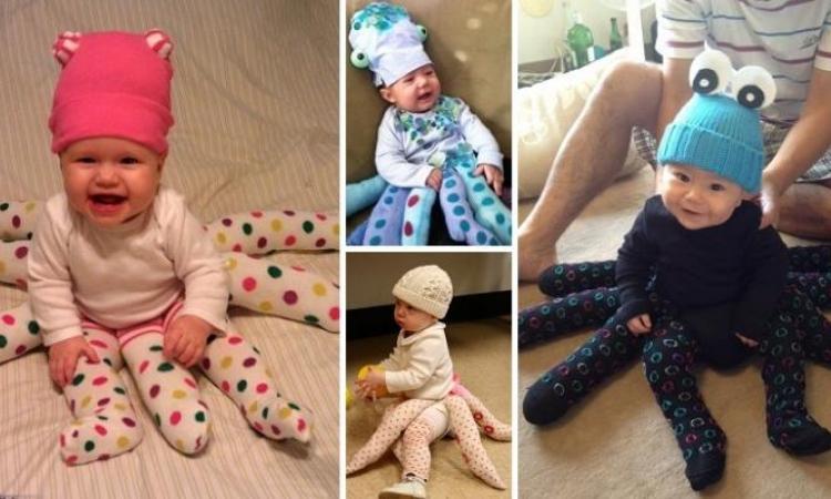 Comment fabriquer un costume de pieuvre pour bébé ou enfant! Octopus!