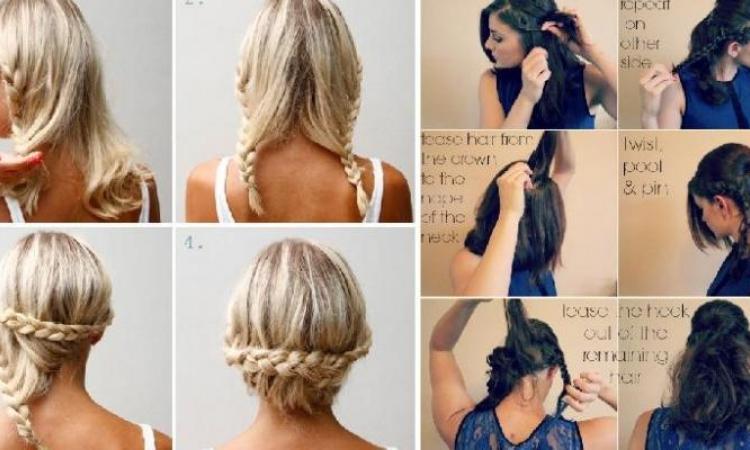 10 tutoriels de coiffure avec tresse
