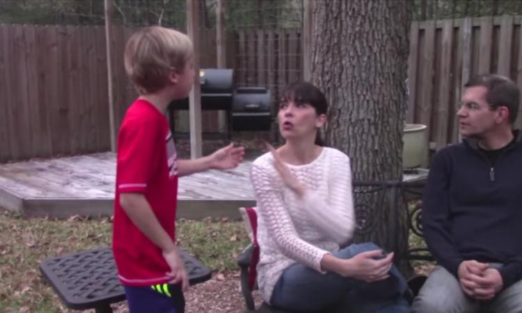 Son fils coupait constamment la parole! Jusqu'à ce qu'elle lui montre ce petit truc!