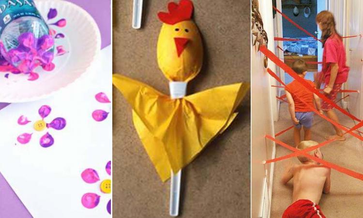 Que faire ce week-end avec les enfants? 18 idées GÉNIALES de bricolages créatifs!
