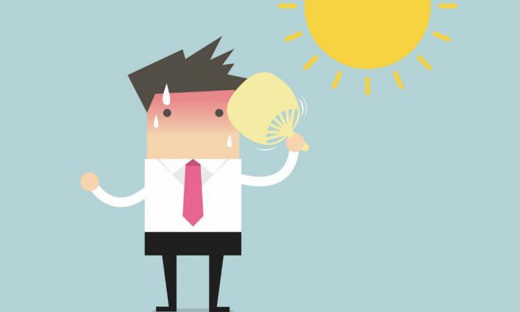 Avertissement de chaleur accablante en vigueur: attention aux coups de chaleur!