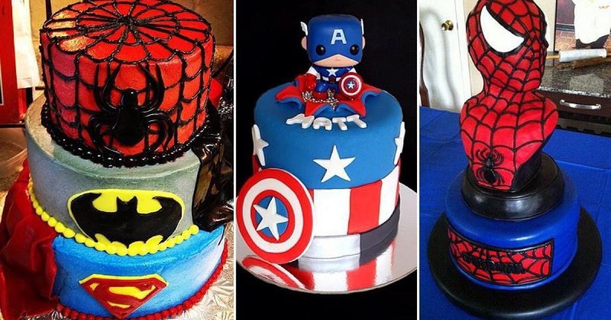Préférence 25 gâteaux de Super Héros!! - Trucs et Astuces - Trucs et Bricolages TZ25