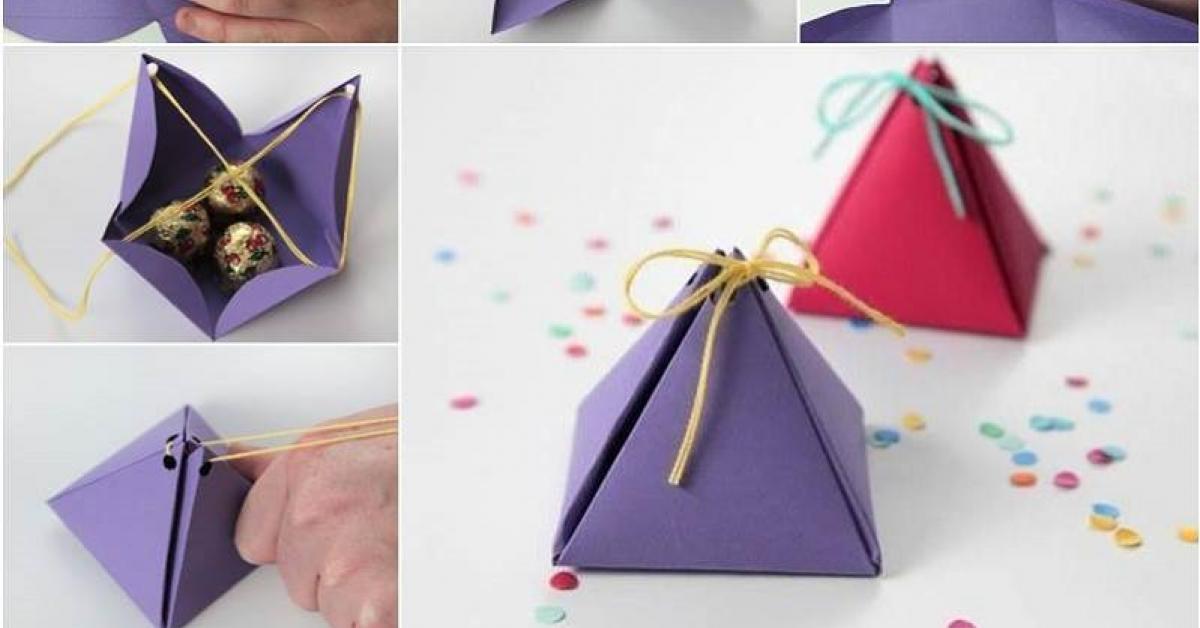 Fabriquer Une Boite Cadeau