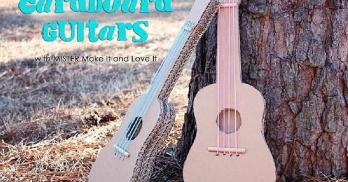 Häufig Fabriquer une guitare pour les petits! - Bricolages - Trucs et  RD16